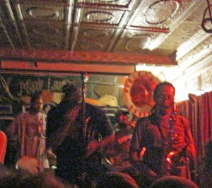 Rebirth Brass Band at the Maple Leaf Bar in Uptown New Orleans every Tuesday night except when the band tours..