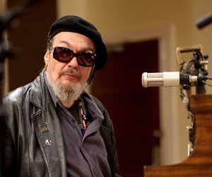 The show featured literally hundreds of musicians. Some well known such as Dr. John (Mac Rebennak)
