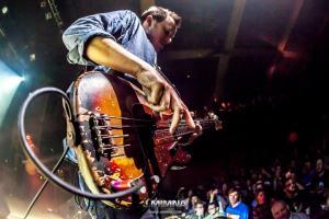 Robert Mercurio on bass for Galactic