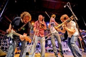 Bonerama will close out the Freret Street Festival.