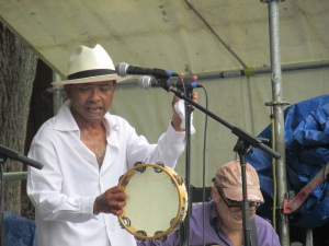 John Boutte performing at French Quarter festival this week.