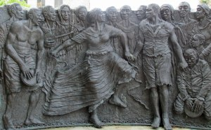 Congo Square is where slaves congregated on Sundays in 19th Century New Orleans and is considered where jazz was born.