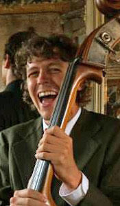 Double Bass Player Taylor Smith found his bliss playing music in New Orleans.
