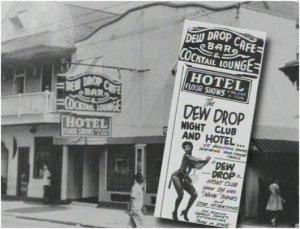 Through the 40's til Hurricane Katrina, the Dew Drop Inn was an